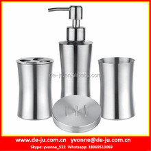 Peanut-Shape Stainless SteelToothbrush Holder Set
