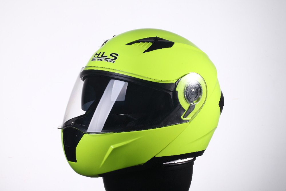 HLS 2015 New Model,Dual Visor Flip up helmet,Motorcycle Accesorries,DP-997