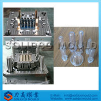 medical transparent tube mould and plastic injection mould
