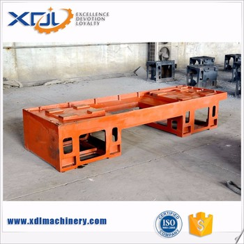 Good Quality Custom Machined Cast Iron Machine Table for Lathes