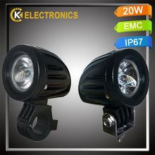 high quality factory price wholesale 6063 alloy DC9-32V 10w motorbike led work light