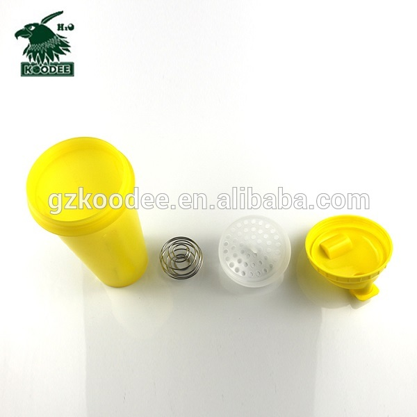 New hot fashional plastic protein shaker water bottle