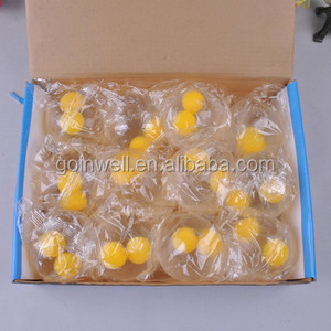 Double yellow egg TPR Smash Sport Water Ball, Splat Sticky Water Ball