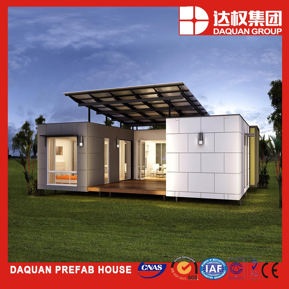 Wuhan beach prefab houses /prefab homes price