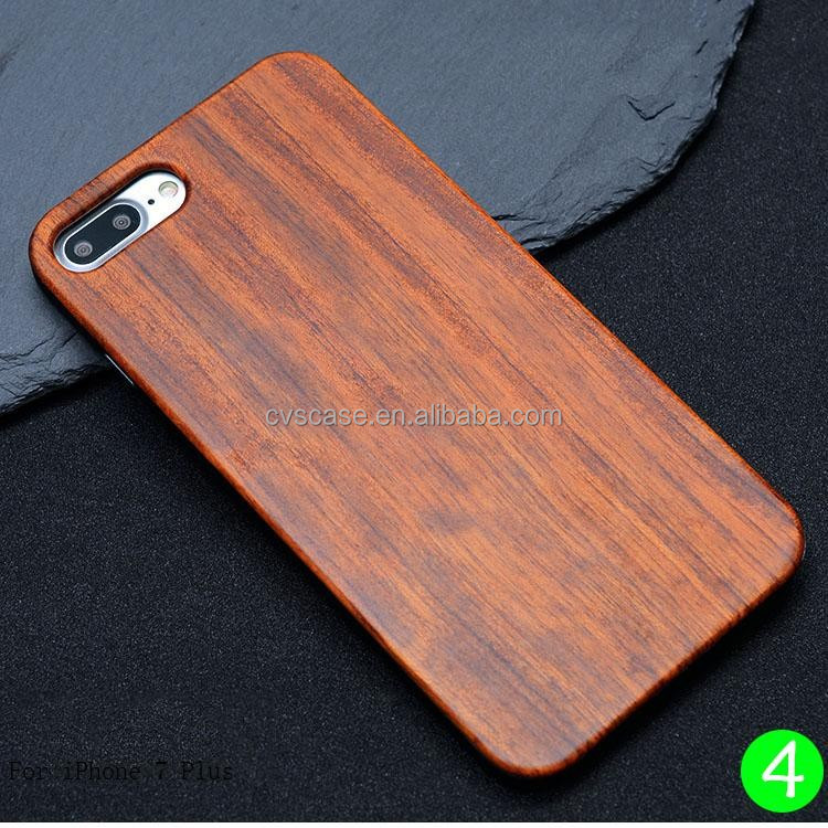 Wholesale Cell Phone Case,Case for iPhone 7Plus,Natural Wood Phone Cases for iPhone 7 Plus