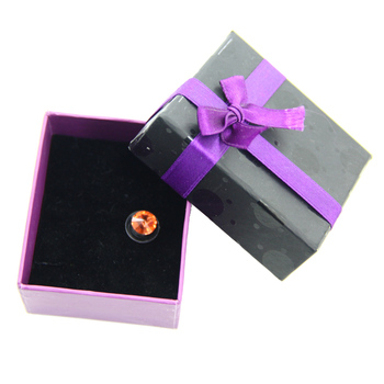 2015 professional custom luxury jewelry gift packing paper box