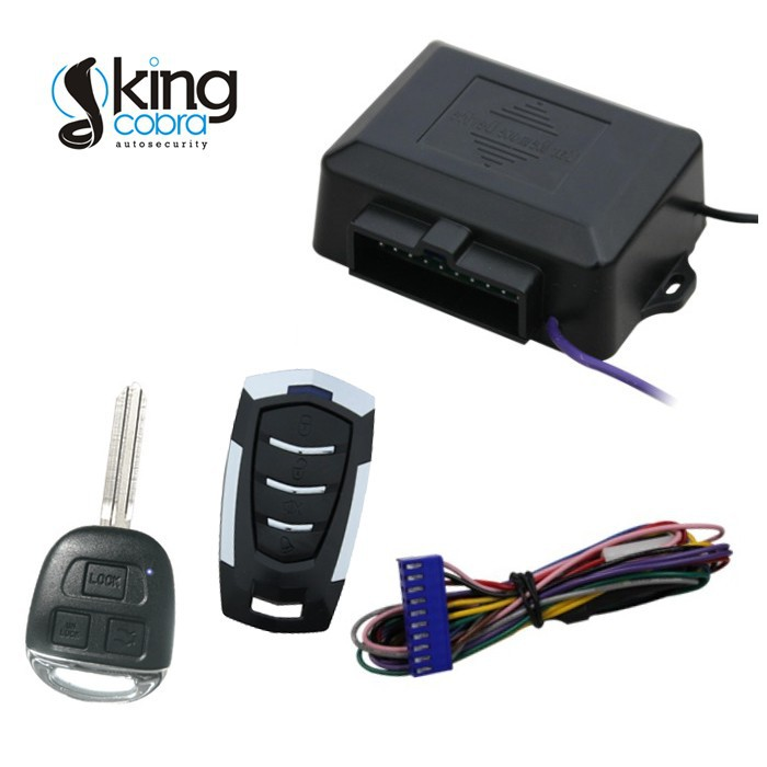 Keyless Entry Door Car Center Lock With Different Remote