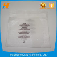 Custom Printed White EPE foam Packaging Pouch bag, foam pouch