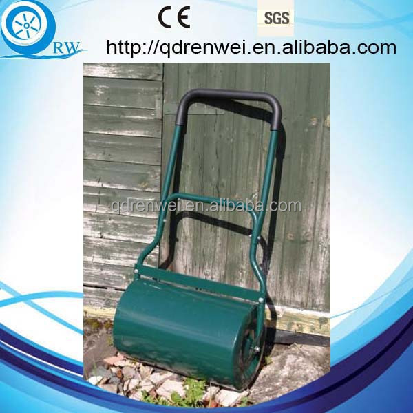 Hand Operated Steel Roller/Walk-Behind Lawn Roller/Steel Lawn Roller