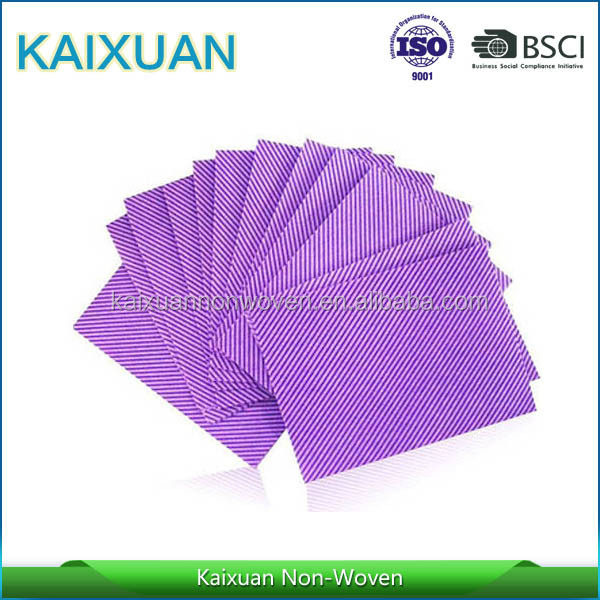 chemical bond nonwoven industrial disposable microfibre cleaning cloth
