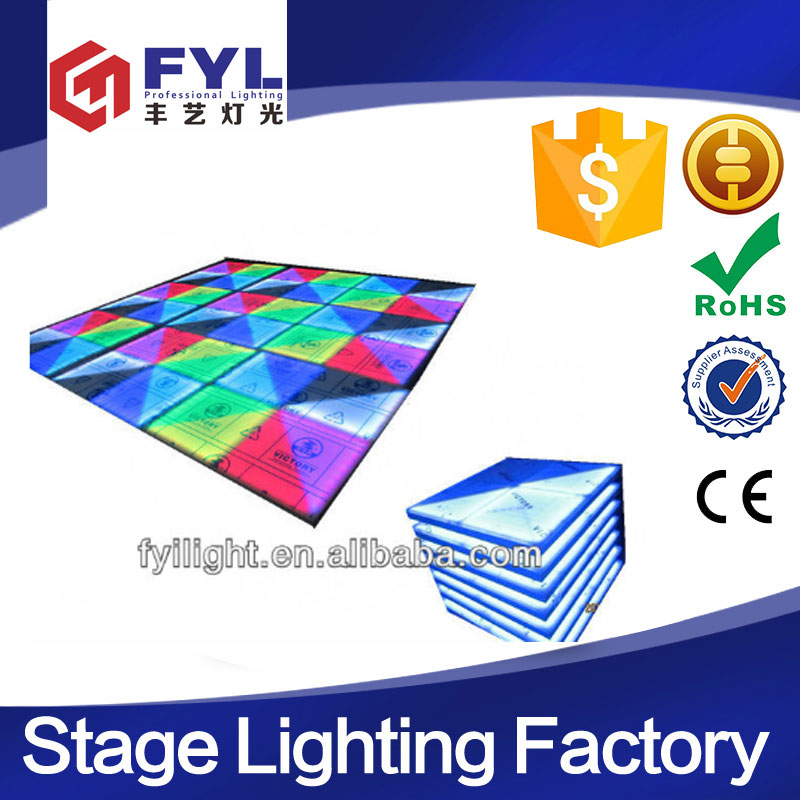 factory price stage lighting interactive panels led dance floor