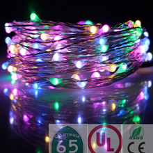 2016 China Wholesale New Product Outdoor Lighting Colorful Mini Lights Christmas LED String Light for
