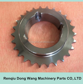taper bore sprocket for chain 08B-1, Pitch 12.7mm , z26 for bush 1610