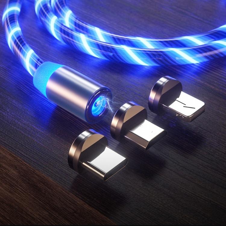 LED Lueur Fluide Magnétique Chargeur Rapide USB Câble - ANKUX Tech Co., Ltd