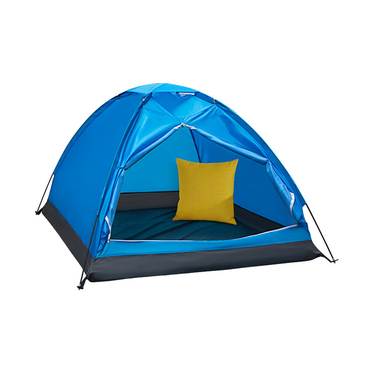 Assured trade Popular blue color family camping <strong>tent</strong> waterproof 2 person