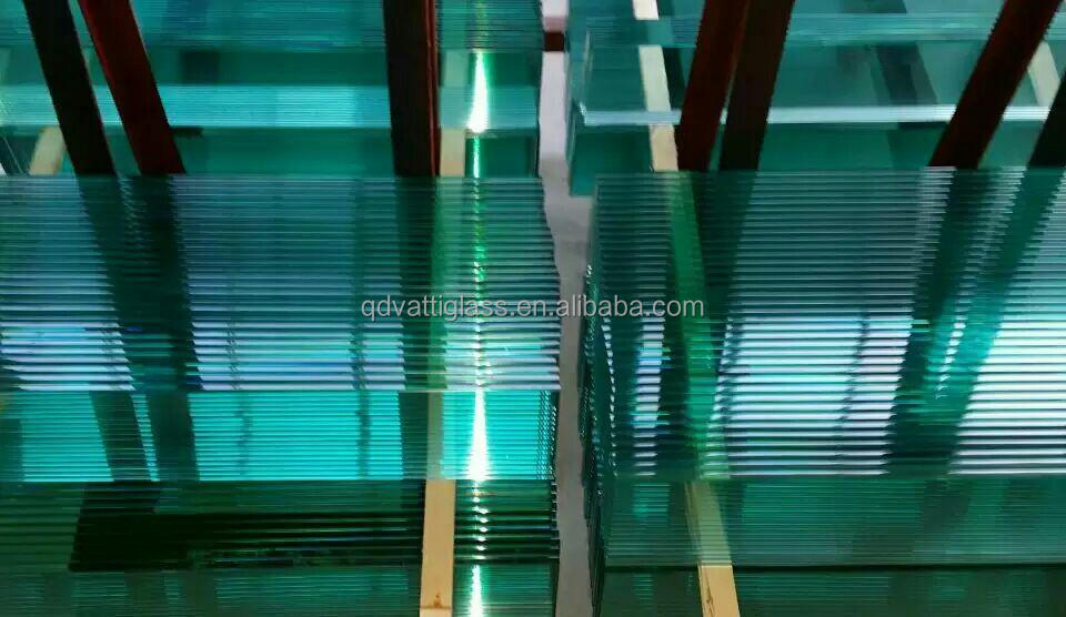 Best quality 6mm toughened glass price/10mm security Tempered glass deck panel