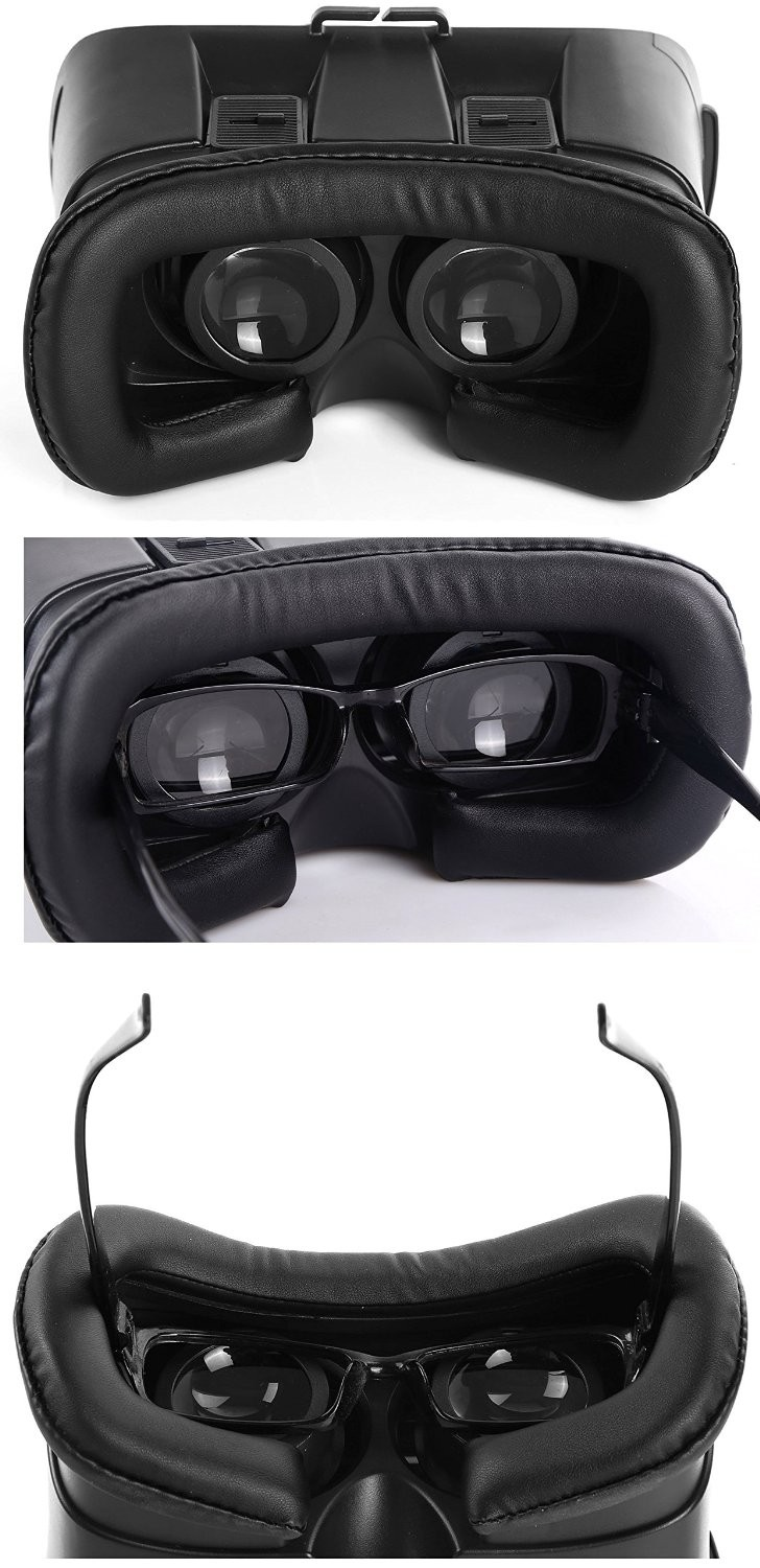2016 Newest technology 3D Virtual Reality Headset Movie Game Glasses vr box