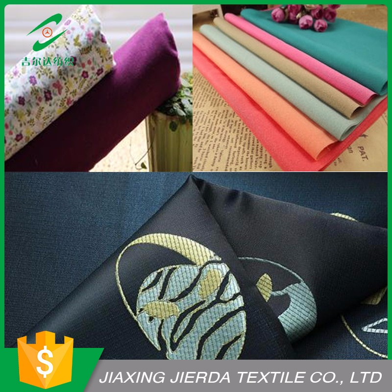 Modern 100%Polyester Different Types Of Fabric