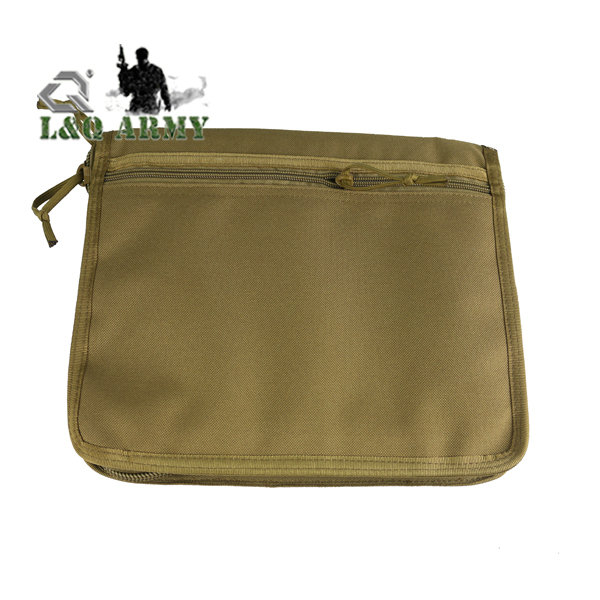 Tactical Notebook Cover Passport Bag Molle