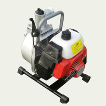 "1"" gasoline water pump with 2-stroke engine"