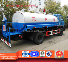 dongfeng 10000liters water tanker truck with fire monitor, fire fighting water truck for sale