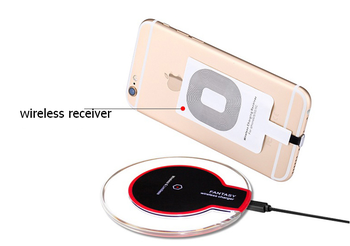 Hot Top Quality qi wireless charger for samsung s4 s5 s6 for iPhone 6 6Plus wireless phone charger