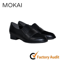 mk055-8 genuine leather wholesale china women office loafer shoes