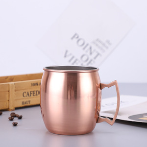 Amazon hot sales customize stainless steel Moscow Mule Copper Mugs