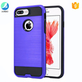 Bulk sell in alibaba 2 in 1 tpu pc shockproof mobile phone case for iphone 7 plus