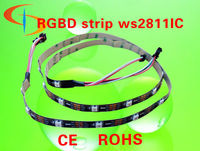 low power led strip light 5v High lumen CE ROHS 2 years warranty 5050 smd rgb led strip ws2801 ws2811