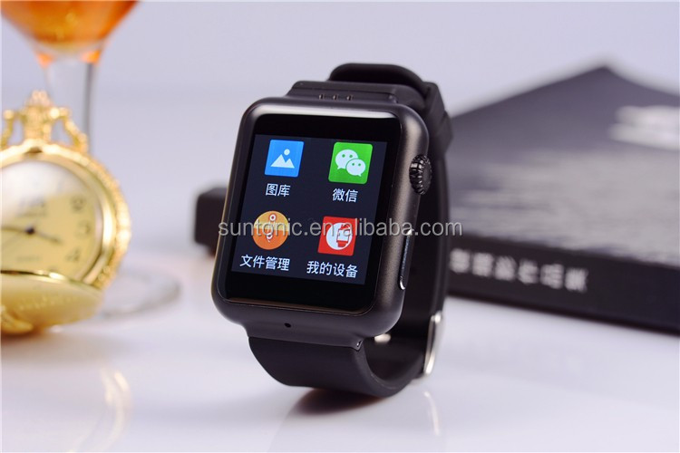 2015 new smart bluetooth watch android 4.4 support sim card
