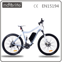 MOTORLIFE/OEM CE EN15194 wholesale 2016 best full suspension electric bike 8fun 250w motor samsung battery cheap for sale china