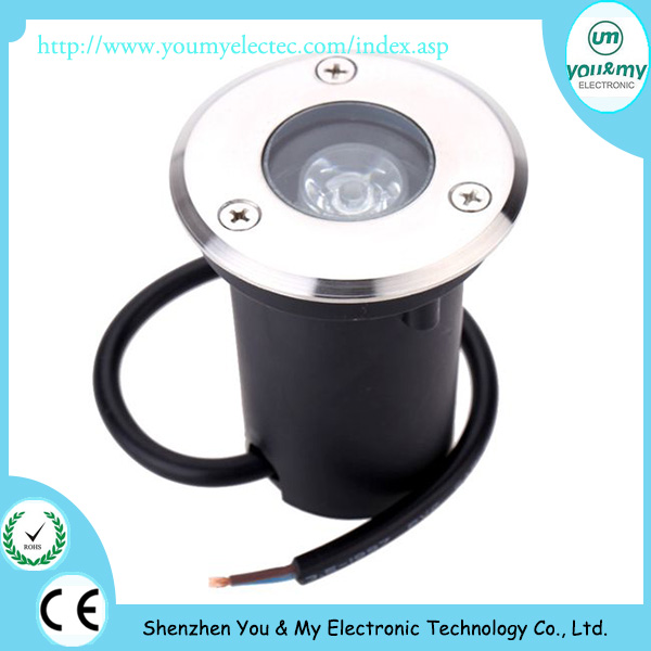 underground mine lamp IP67 Outdoor Mini 1W LED Underground Light 200pcs by <strong>FEDEX</strong> shipping
