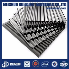 Natural Zinc Corrugated Roofing Sheets Metal