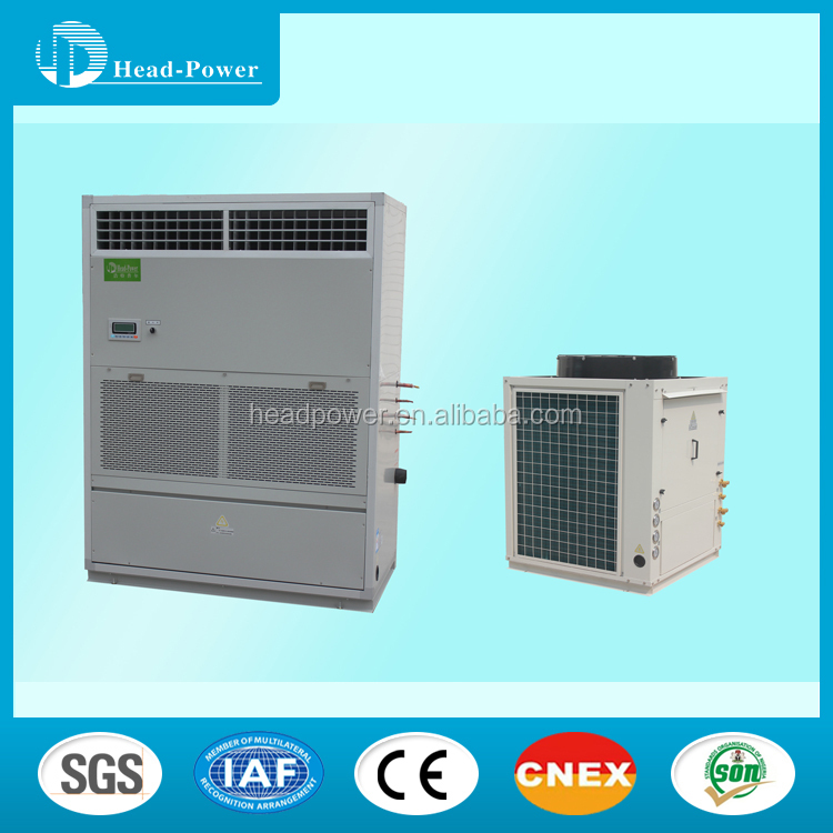 CE Certification split package type central air conditioning unit