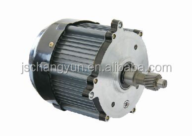 Electric rickshaw 48v 1000w brushless dc motor