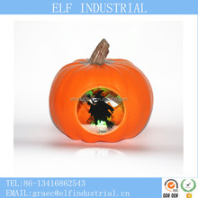 china suppliers new design large artificial plastic led halloween pumpkin with sound