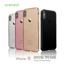 Soft TPU New Trending Hotselling Product High Quality Marble Surface Customized Color Mobile Phone Case for iphone 8