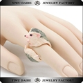 Daihe hedgehog shaped open ring fashion resin jewelry