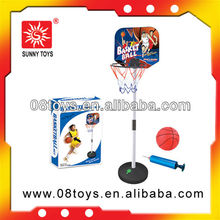 Children holder plastic basketball stand