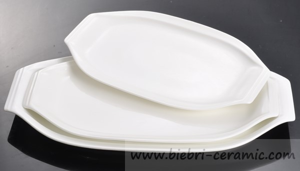 soup party 12'' 12.5 inch 12.5'' oval plate