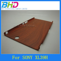 Hard Plstic mobile glove cell phone case For Sony XL39H