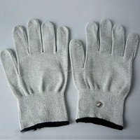 Tens garments conductive gloves for ems muscle massage device