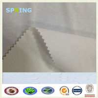breathable bleached white 100% cotton waterproof fabric
