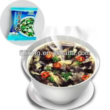 Freeze-dried delicious instant soup