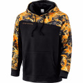2018 new fashion design mens black fleece pullover gym panel hoodie custom sublimated hoodie sweatshirt wholesale