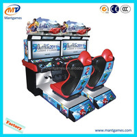 Outrun 2011 Coin Operated Simulator Driving Motorcycle Car Racing Arcade Video Game Machine