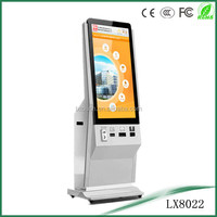 42inch touch screen print kiosk with A4 laser printer
