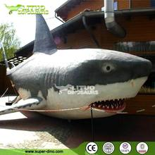 Theme Park Animatronic Large Animal Replica of Shark