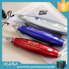 New style Cheapest gift led ballpoint pens with logo print